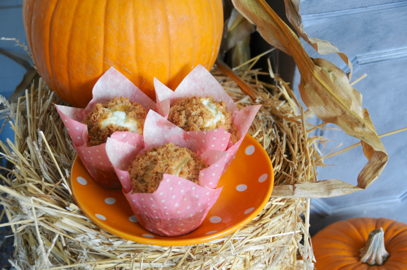 Pumpkin-Cream-Cheese-Muffin