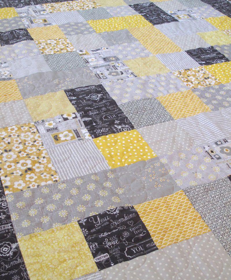 Greysun-Patchwork-Quilt