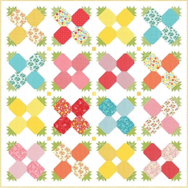 Welcome-Pineapple-Fruit-Punch-Quilt-Moda-1